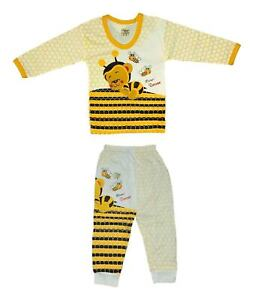 XAGO Baby Top and Trouser Set with Cute Monkey Print Soft Fabric UK Seller