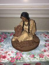 1985 Tom Clark Gnome Figurine D'antahala And Little Bears #70 Signed