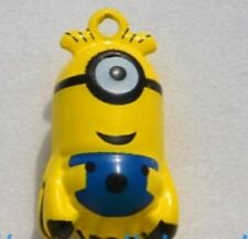 Dog collar bell charm / is your dog a little minion / ring attached