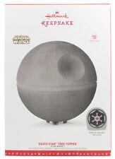 Star Wars Light and Sound Death Star Tree Topper Ornament ~ Hallmark