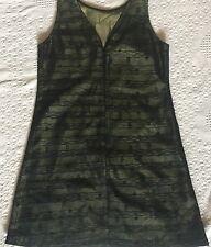 Bang size Medium M Little girls Black green lace dress Youth