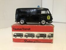 Tekno Dalia Taunus Transit 415 - Policia - 1/43 diecast