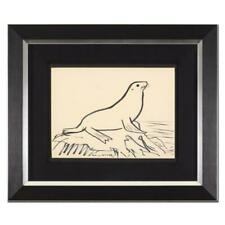 "Wyland ""Seal"" Hand Signed Original Artwork; Framed; COA"