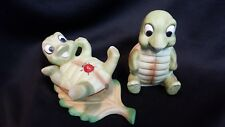 Homco Whimsical Turtle Figurines #1123 (Set of Two) (Free Shipping)