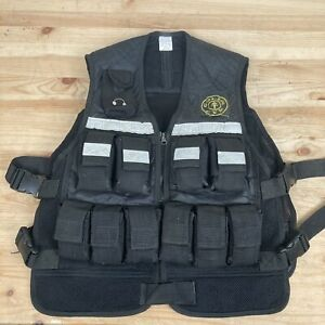 Golds Gym Weighted Exercise Vest 20 Pounds Outdoor Training Vest 20 Pounds Total