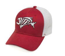 G. Loomis Skeleton Fish Bandit Trucker Fishing Cap, Red (GHATBANTCRD)