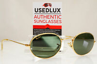 Authentic BAUSCH & LOMB RAY-BAN Mens Womens Sunglasses Gold Oval W0976 B&L 27983