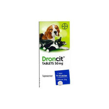 20 Pack Droncit Tablets For Dogs & Cats Tapeworm | Worming DeWormer Pills