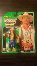 WWF Hasbro Bart Gunn Green Card Figure New WWE