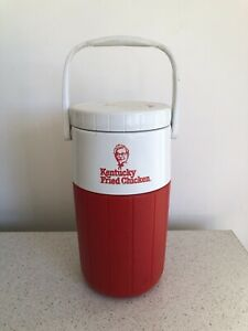 Kentucky Fried Chicken KFC Thermos Vintage Picnic Flask Cooler Drink Bottle