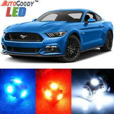 9 x Premium Xenon White LED Lights Interior Package Upgrade for Ford Mustang
