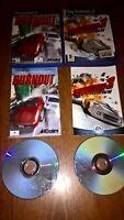 Burnout 1 & 3 Takedown PS2 Games Bundle Sony PlayStation 2