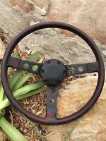 Holden V8 253 308 Hq Hj Hx Hz Wb Ute Van Tonner Gts Monaro Red Steering Wheel
