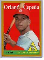 Orlando Cepeda 2019 Topps Archives 5x7 Gold #45 /10 Cardinals