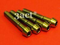 2pcs M6 x 35mm Titanium // Ti Bolt fit Chris King FSA Headset Black Ritchey