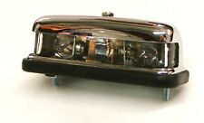 UNIVERSAL CHROME NUMBER PLATE LAMP FOR HOT ROD KIT CAR & SPECIALS