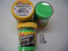 Berkley Power Bait Trout Bait Glitter Spring Green 3 x 50g-vetro 100g/6,66 €