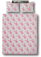 PILLOW CASE D PILLOW PLAYBOY GEOMETRIC BLACK// WHITE BUNNY PINK 63X632