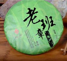 357g cake YuBang raw puer tea raw puerh tea green tea LaoBanZhang Year 2013