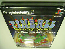 Pinball Hall of Fame The Gottlieb Collection (Sony PlayStation 2) BRAND NEW