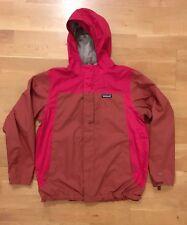 Patagonia 3 in 1 Jacket Hooded Rain Medium Colour Block Red (Boys XXL) No Liner