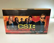 CSI: Miami Series Two 2 - Sealed Trading Card Hobby Box - Strictly Ink 2005