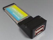 Expresscard 34mm 2fach eSATA Controller           #e536