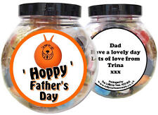 SPACE HOPPER PERSONALISED FATHER'S DAY PRESENT - GIFT JAR OF SWEETS