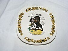 VINTAGE LORD NELSON POTTERY SMALL BOVRIL PLATE ADVERITSING SQUARE PLATE