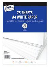 Copiadora Blanco A4 80gsm 75 hojas de papel papel de fotocopia Impresora Oficina Escuela Nuevo