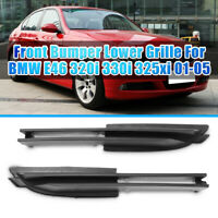 2Pcs Front Bumper Lateral Grille For BMW E46 320i 330i 325xi 01-05 51117032613