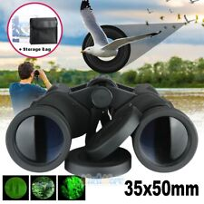 35x 50mm Zoom Day Night Vision Outdoor HD Binoculars Hunting Telescope + Case US