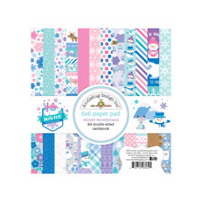 "New Doodlebug 6"" x 6"" Paper Pad Winter Wonderland"