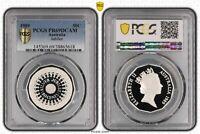 1989 Australia Fifty Cent, 50c Silver Jubilee PCGS - PR69DCAM