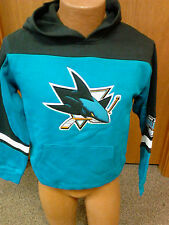 NHL San Jose Sharks NEW Hooded Sweatshirt Youth Sizes S-L NWT