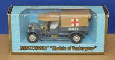 Matchbox Yesteryear Y13 1918 Crossley RAF Tender Ambulance 1:47 '73 T2 24 spoke