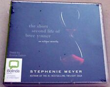 The Short Second Life of Bree Tanner: An Eclipse Novella Audio CD New Sealed