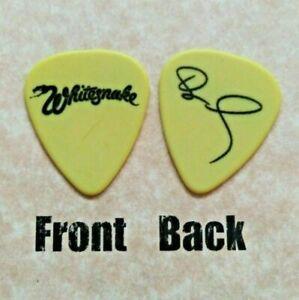 WHITESNAKE band logo Dave Coverdale signature guitar pick -(W-2312)