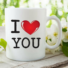 I Love You Mug Girlfriend Gifts Boyfriend Valentines Birthday Coffee WSDMUG721