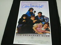 ANTHONY MICHAEL HALL Signed THE BREAKFAST CLUB 11x17 Movie Poster Auto JSA COA