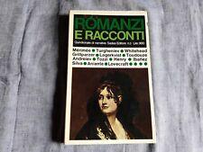 ROMANZI E RACCONTI Merimée, Turgheniev, Whitehead...Sadea Editore (1965)