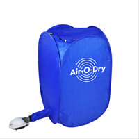 800W Portable Electric Air Clothes Dryer Folding Fast Drying Machine Bag 110V US