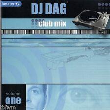 DJ Dag-Club Mix Volume One-RARE CD Techno Trance-tbfwm