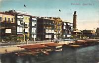 br104410 port said quai no 1 africa real photo egypt
