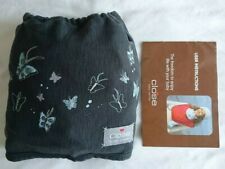 Close baby carrier sling wrap, dark grey. Excellent condition. Fabric.