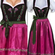 Dirndl Aurela Schwarz Pink Gr.36  Stockerpoint Trachten,Tracht Wiesn,Oktoberfest
