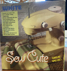 Sew Cute Sewing Machine Model #SC 20 by White NEW Original Box (Color: PINK)