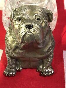 Bulldog Solid Pewter Belt Buckle Original Tanside Licenced Limited Edition
