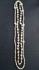 - Sea Beach White Puka Shell / Seashell Necklace