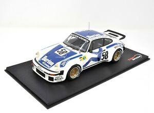 Top Speed Porsche 934 #58 7th Le Mans 1977 Wollek - Gurdjan - Steve TS0057 1/18